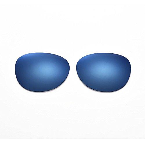 Walleva Ersatzgläser für Ray-Ban Erika RB4171 54mm- Mehrfache Optionen (Eisblau beschichtet - polarisiert)