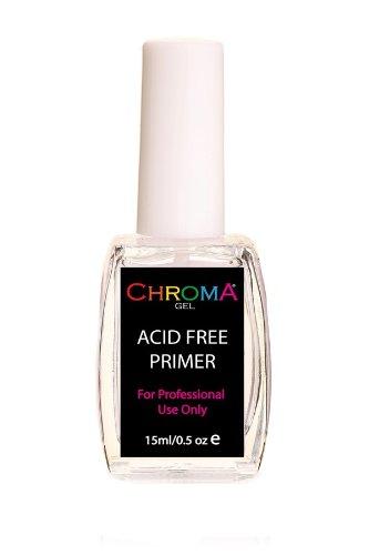 Chroma Gel Acid Free Primer | Nail Primer | Gel Nail Gel Primer by Chroma