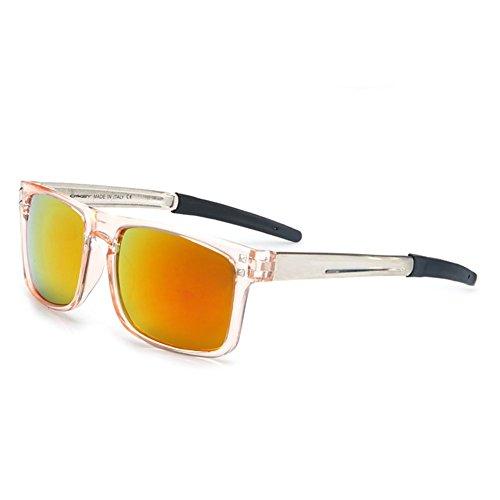 Z-P unisex fashion Riding glasses outdoor sports cool running sunglasses uv400 reflective (Designer Kostüm Der Flieger)