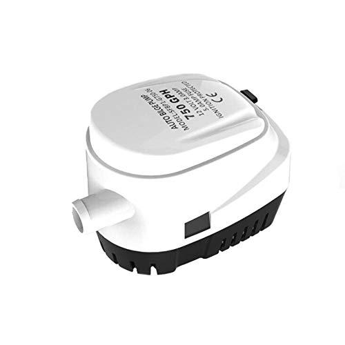 JOND 12V24V DC Bilgenpumpe Pumpe Vollautomatischer Schalter Elektrische Tauchpumpe Große Verdrängerpumpe 19MM Abfluss Landwirtschaftlicher Bauernhof Bewässerungsspray,24V