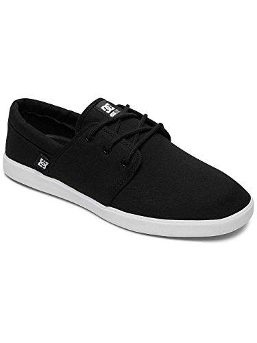 DC Shoes DC Herren Schuhe Haven, Scarpe da Skateboard Uomo Noir - Black/Black/White