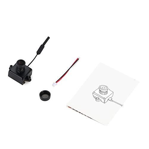AIO 800TVL CMOS Mini FPV Kamera CAM RC Spielzeug Teile Zubehör mit 5,8G 40CH 25 mW VTX 3dBi Peitsche Antenne, schwarz, ()