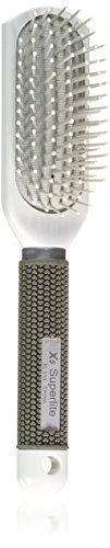 Elegant Brushes Superlite X5 Styler Cushion Brush, White by Elegant Brushes