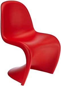 vitra kinderstuhl panton chair junior rot 21019618 k che haushalt. Black Bedroom Furniture Sets. Home Design Ideas
