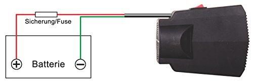 Universeller Heizlüfter / Scheibenenteiser 12 Volt 300 Watt - 6