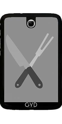 Coque pour Samsung Galaxy Note 8 N5100 - Couteau Et Une Fourchette by ilovecotton