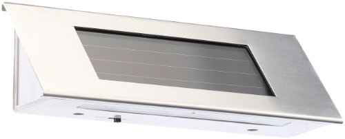 Lunartec Solar Hausnummer-Leuchte Premium (LED)
