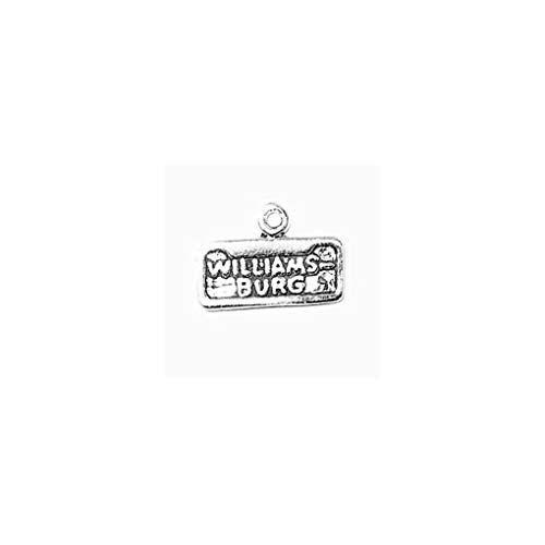 Schmuckprofessionals Anhänger USA Williamsburg Charm Aus 925er Sterlingsilber