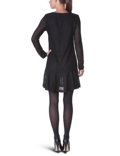 American Retro Jil - Robe - Volantée - Uni - Femme Noir