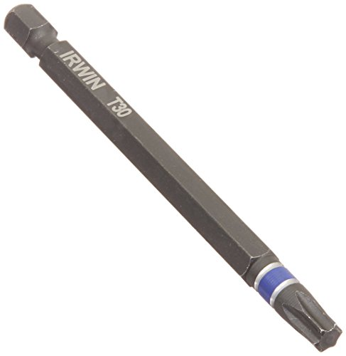 Irwin Tools 1837628 Torx T30 Impact Performance Serie Power Bit, 3-1/5,1 cm -