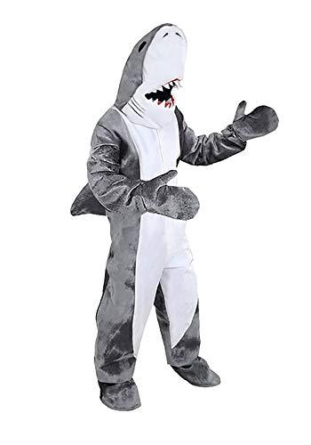 Karneval Motto Party Kostüm Ideen - Hai Kostüm Einheitsgrösse XXL Fasching