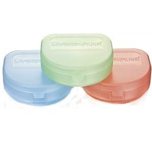 Ultraflache Box für Aufbissschiene oder Knirscherschiene