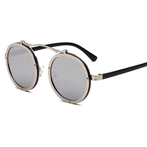 FGRYGF-eyewear2 Sport-Sonnenbrillen, Vintage Sonnenbrillen, Popular Women Round Sunglasses Vintage Men Matte Frame Sun Glasses Uv400
