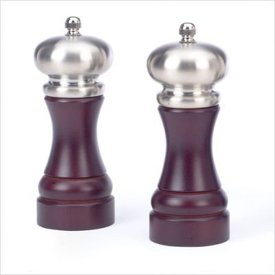 William Bounds Bishop Salt and Pepper Mill Set - Espresso by William Bounds