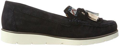Gabor Shoes Fashion, Mocassini Donna Blu (pazifik kombi 18)