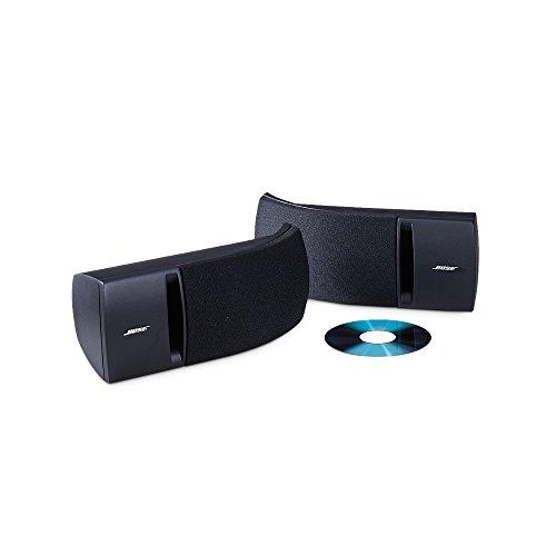 Bose ® Speaker System (bis 100 Watt Amplifier, 1-Paar) schwarz (Bose Lautsprecher-paar)