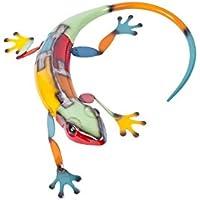 Hedgehog Figur Tier Tierfigur Herbst Igel Ton Höhe 16 cm