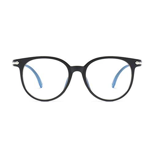LafyHo Blau lichtundurchlässige Brille Anti Augenermüdung dekorative Gläser Licht Computer-Strahlenschutz Brillen - Blau Dekorative Glas