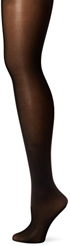 Medium Support-strumpfhosen (L'eggs Women's Leggswear Seasonless Tight, Black, Medium)