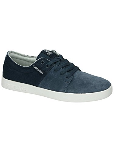 Supra Stacks II, Baskets mode homme navy/light grey/white