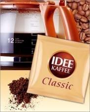 Filterbeutel IDEE Entkoffeiniert 50 x 60g gemahlen