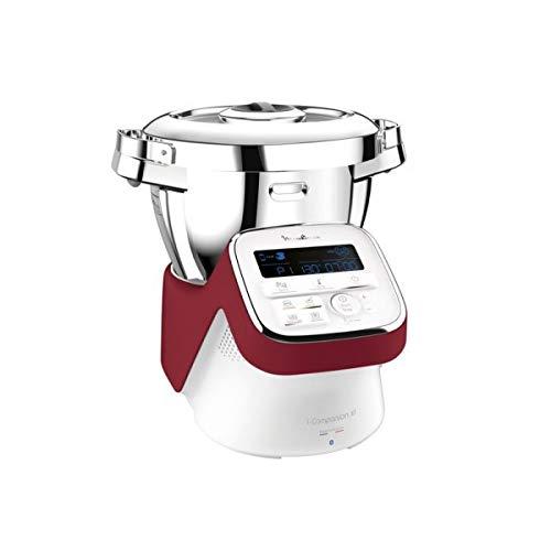 MOULINEX Robot cuiseur Companion XL rouge HF908500