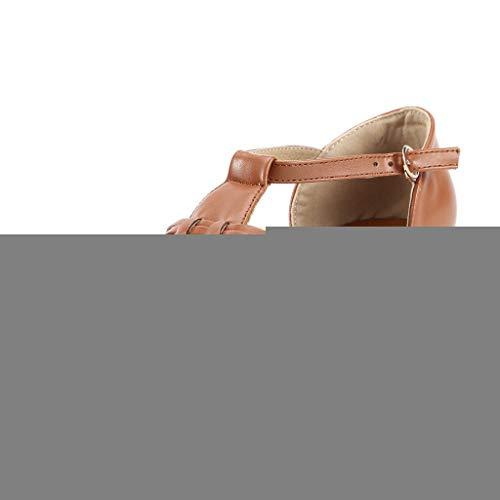 n-Käfig-Bügel-dicke Sohlen Sandalen Freizeitschuhe, Rückkehr in die pastorale, einfache, lässige Art ()