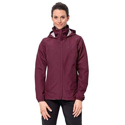 3184IHeQvTL. SS500  - Jack Wolfskin Stormy Point W Women's Weatherproof Jacket, Womens