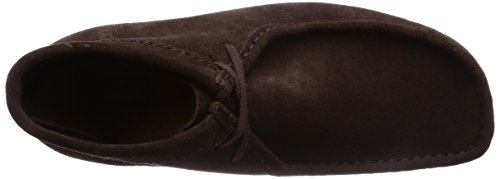 Clarks Originals Wallabee Boot Herren Kurzschaft Stiefel Braun (Dark Brown Suede)