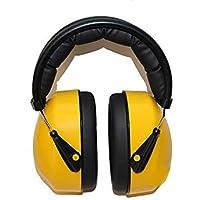 Yhcean Orejeras Calientes De Invierno Protección auditiva Orejeras Muffs Reducción de Ruido Orejeras para Aprender Disparos de Trabajo (Amarillo) Orejera Acogedor