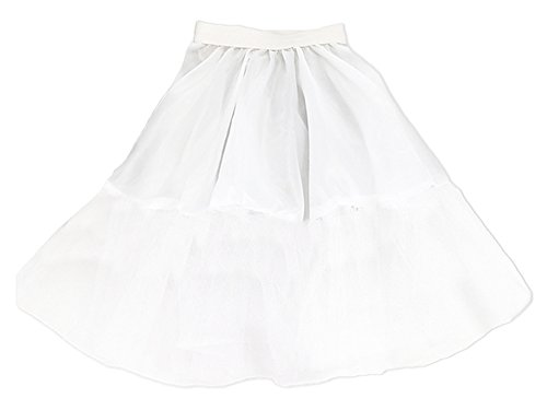 Petticoat aus Stoff & Tüll für Kinder 40 cm (60er Kostüme Der Mädchen Jahre)