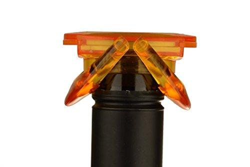 UFO Sekt & Champagnerverschluss orange Flaschenverschluss Verschluss