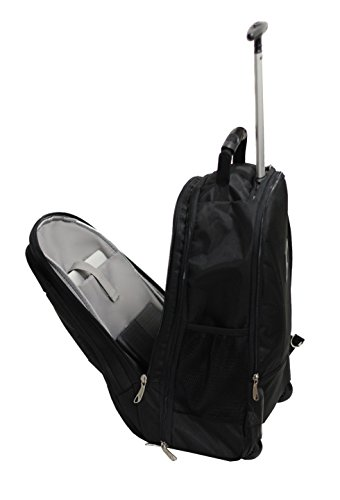 3184YdaE2FL - Bolsa con Ruedas para Portatil Marqua Alistair Airo - 17 Pulgadas - Ultra Ligero - Color Negro