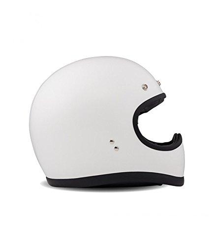 DMD 1ffs10000wh06Casco Moto, White, XXL