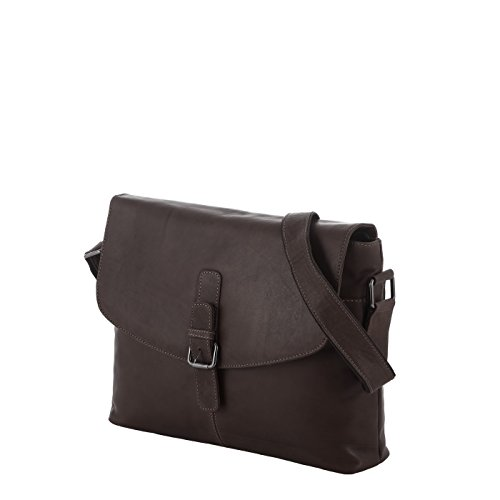 Rada Nature Umhängetasche Bundaberg echt Leder Handtasche in verschiedenen Farben braun