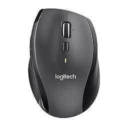 Logitech M705 Laser-Maus schnurlos schwarz/grau