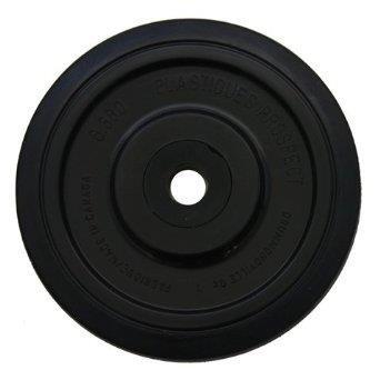 Kimpex Faulenzer Rad–5,55in. (141mm X 20mm)–Schwarz 04–141–01