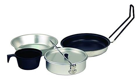 Texsport Five-Piece Non-Stick Aluminum Mess (5 Pezzi Kit Mess Kit)