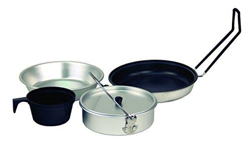 Texsport Cinque pezzi alluminio antiaderente Mess (5 Pezzi Kit Mess Kit)