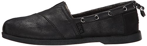 Skechers Bobs Womens Chill Luxe Flat Black/black