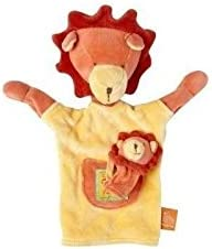 Moulin Roty - Doudou Moulin Roty Roty Roty lion marionnette les loustics marron orange - 7142 | L'exportation  a96c2a