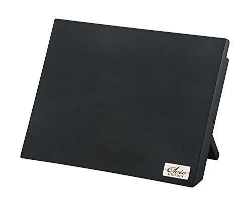 Magnetisches Messerbrett - Holz Messerblock, schwarz, ohne Messer
