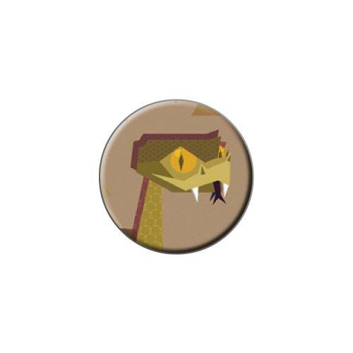 Geometrische Schlange Dusty Metall Revers Hat Shirt Handtasche Pin Krawattennadel Pinback (Metall-schlange Handtasche)