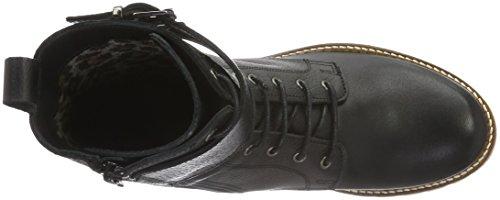Apple of Eden Damen Cat Daddy Biker Boots Schwarz (Black)