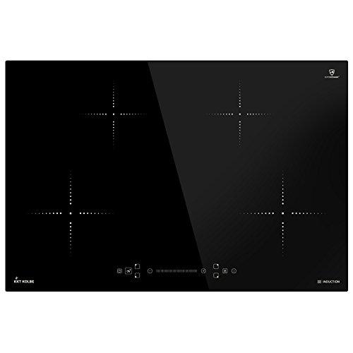 Induktionskochfeld 77 cm autark Booster Touch Slider rahmenlos Timer IND8000RL KKT KOLBE