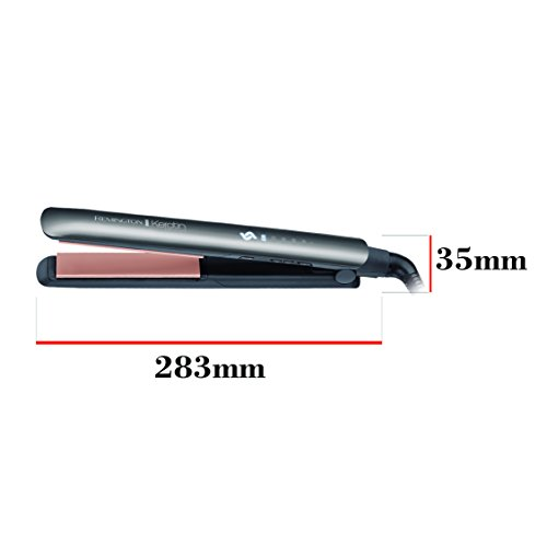 Remington S8598 Keratin Protect Intelligent Straightener, Infused With Keratin & Almond Oil