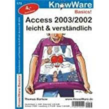 Access 2003/2002 leicht und verständlich