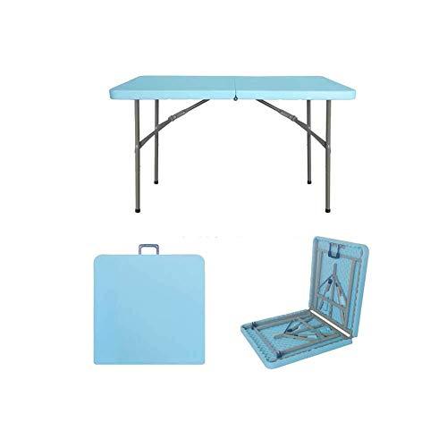 PPTCT Picknicktisch, Der Kampierenden Picknicktisch Für Eine Hof-Abendessen-Picknick-Partei Faltet (Color : Blue) - Runde Baldachin Kit