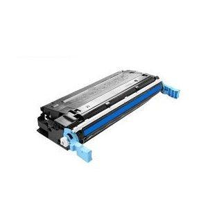 Eurotone Laser Toner Cartridge Cyan remanufactured für HP Color Laserjet 4600 4600DN 4600DTN 4600HDN 4600N + 4610 4610N + 4650 4650DN 4650DTN 4650HDN 4650N - kompatibel ersetzt C9721A -