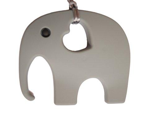 Elefant Beißring Schnuller Silikon Spielzeug BPA-frei, 11Farben
